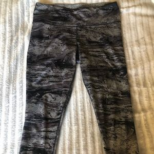 Reversible leggings/ yoga pants